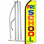 Pre-School Yellow Swooper Flag Bundle