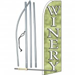 Winery Green Swooper Flag Bundle