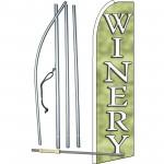 Winery Green Swooper Flag Bundle