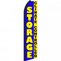 Storage Blue Climate Controlled Swooper Flag