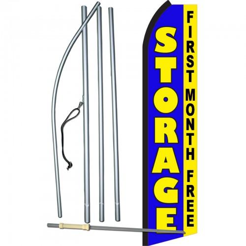 Storage Blue First Month Free Swooper Flag Bundle Sw11342 4pl Sgs By Www Neoplexonline Com