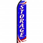Storage Patriotic Swooper Flag