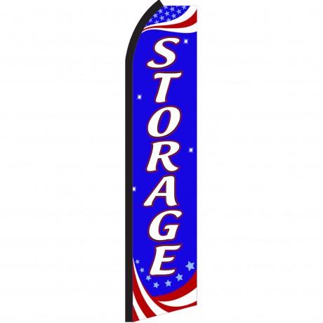 Storage Patriotic Swooper Flag