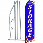 Storage Patriotic Swooper Flag Bundle