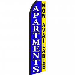 Apartments Now Swooper Flag