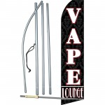 Vape Lounge Swooper Flag Bundle