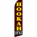 Hookah Lounge Swooper Flag