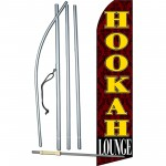Hookah Lounge Swooper Flag Bundle