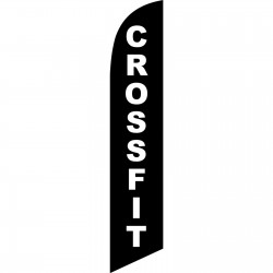 Crossfit Windless Swooper Flag