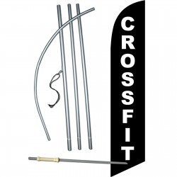 Crossfit Windless Swooper Flag Bundle