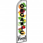 Organic Food Swooper Flag