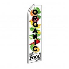 Organic Food Swooper Flag
