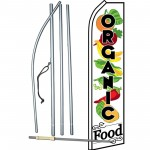 Organic Food Swooper Flag Bundle