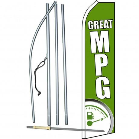 Great MPG Green Swooper Flag Bundle