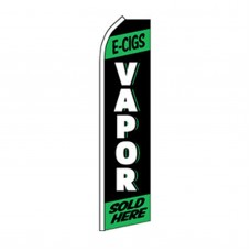 E-cigs Vapor Sold Here Swooper Flag