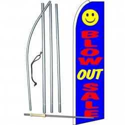 Blow Out Sale Swooper Flag Bundle