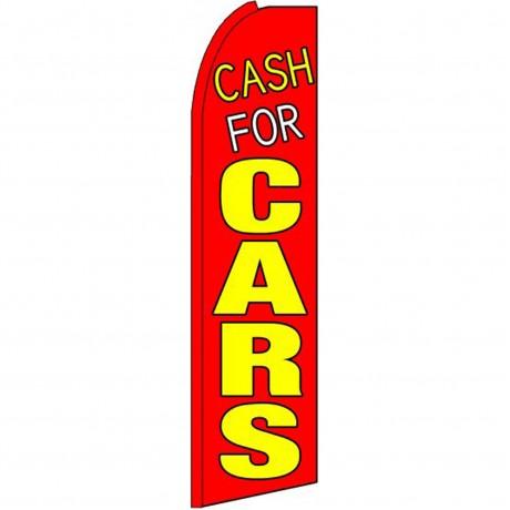 Cash For Cars Swooper Flag