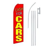Cash For Cars Swooper Flag Bundle