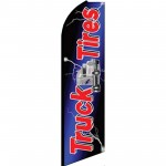 Truck Tires Extra Wide Swooper Flag