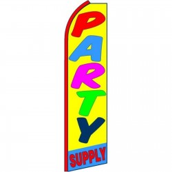Party Supply Swooper Flag
