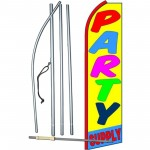 Party Supply Swooper Flag Bundle