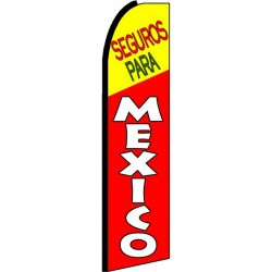 Seguros Para Mexico Swooper Flag