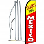 Seguros Para Mexico Swooper Flag Bundle