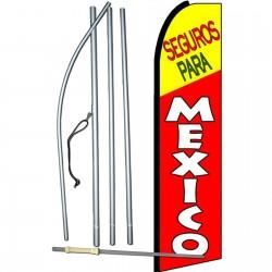 Seguros Para Mexico Swooper Flag Bundle