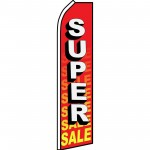 Super Sale Red Swooper Flag