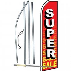 Super Sale Red Swooper Flag Bundle
