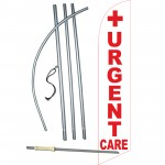 Urgent Care Windless Swooper Flag Bundle