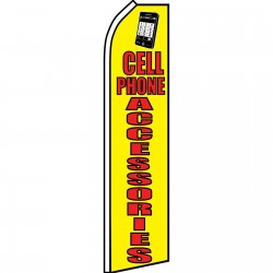 Cell Phone Accessories Yellow Swooper Flag