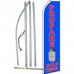 Propane Sold Here Swooper Flag Bundle