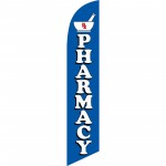 Pharmacy Blue Windless Swooper Flag