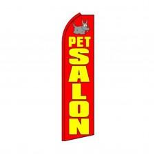 Pet Salon Swooper Flag