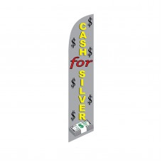 Cash For Silver Windless Swooper Flag