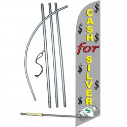 Cash For Silver Windless Swooper Flag Bundle