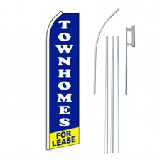 Townhomes For Lease Swooper Flag Bundle
