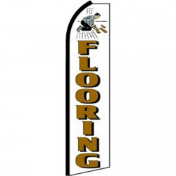 Flooring White Swooper Flag