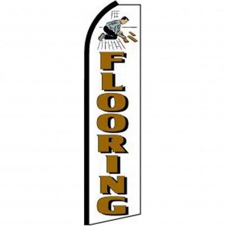Flooring White Swooper Flag