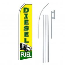Diesel Fuel Swooper Flag Bundle