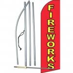 Fireworks Swooper Flag Bundle