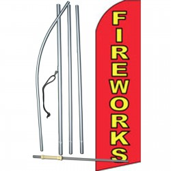 Fireworks Swooper Flag Bundle