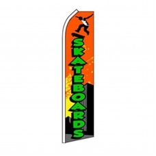 Skateboards Swooper Flag