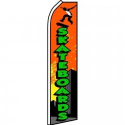 Skateboards Swooper Flag