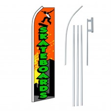 Skateboards Swooper Flag Bundle