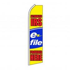 Authorized IRS E-file Swooper Flag