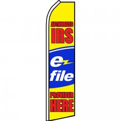 Authorized IRS E-file Swooper Flag
