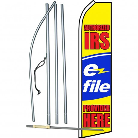 IRS E-File Swooper Flag Bundle