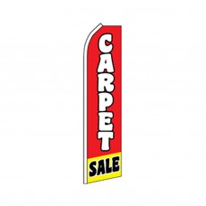 Carpet Sale Red/Yellow Swooper Flag